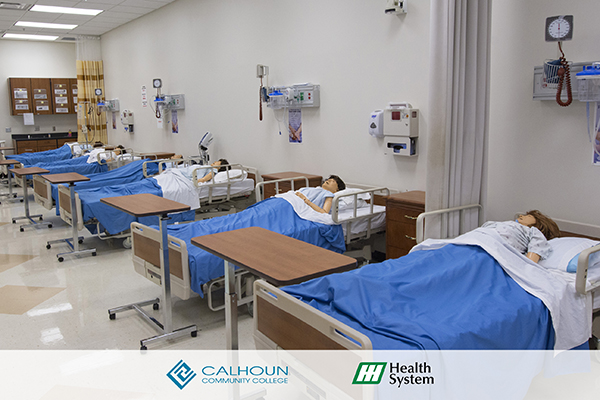 Sim Lab Photo Courtesy of Calhoun Community College